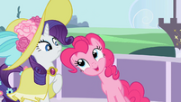 "Pinkie Pie ""Balloons are super easy to pack."" S02E09"