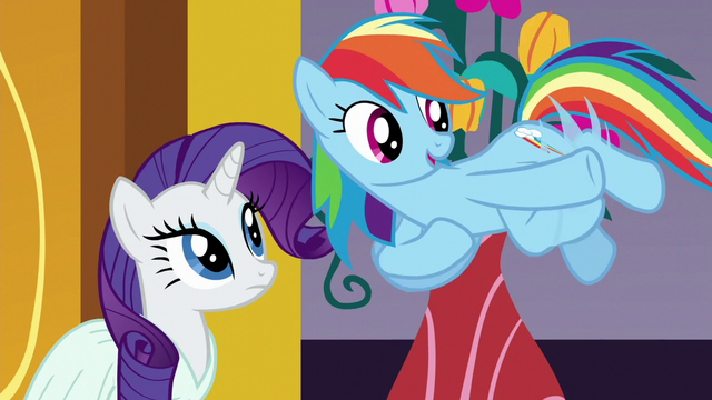 """File:Rainbow """"Let's grab some grub!"""" S5E15.png"""