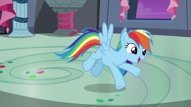 "File:Rainbow Dash ""just like you guys!"" S6E7.png"