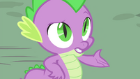 """Spike """"no harm in that"""" S4E23"""