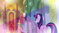 Flashback Celestia 'Those things are reflected across all of Equestria' S3E2