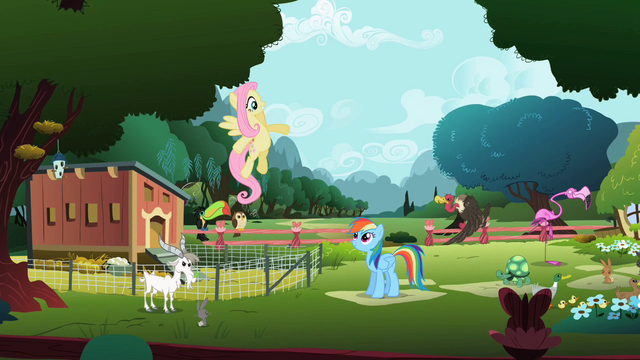 File:Fluttershy singing in beginning of song S2E07.png