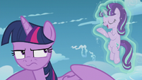 "Starlight ""couldn't convince her to do the impossible?"" S5E25"