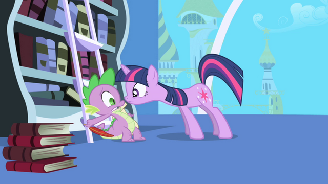 "File:Twilight ""imperative"" to notify Celestia S1E01.png"