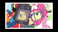 Welder Sunset and Football Player Fluttershy EG3