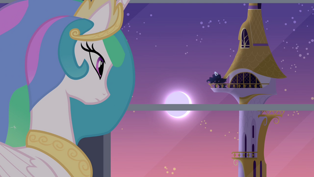 File:Celestia thinking about Princess Luna S4E01.png