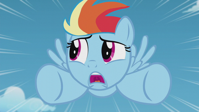 File:Filly Rainbow Dash unsure of herself S5E25.png