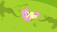 Fluttershy moving her wing S2E22