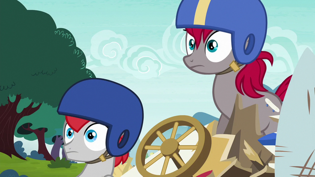 File:Train Tracks and Earth mare surprised S6E14.png