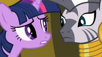 Twilight Sparkle and Zecora S02E10