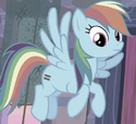 Rainbow Dash unmarked ID S5E2