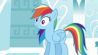 Rainbow is surprised S4E21