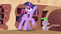 Twilight Sparkle is talking S2E03