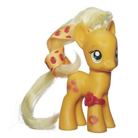File:Cutie Mark Magic Applejack doll with ribbon.jpg
