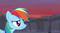Rainbow Dash pouting S4E16