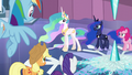 "Celestia ""Those storm clouds are not like the ones you know"" S6E2.png"