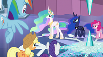 "Celestia ""Those storm clouds are not like the ones you know"" S6E2"