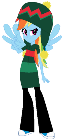 File:FANMADE Rainbow Dash Winter.png
