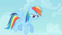 Rainbow hovering S4E07