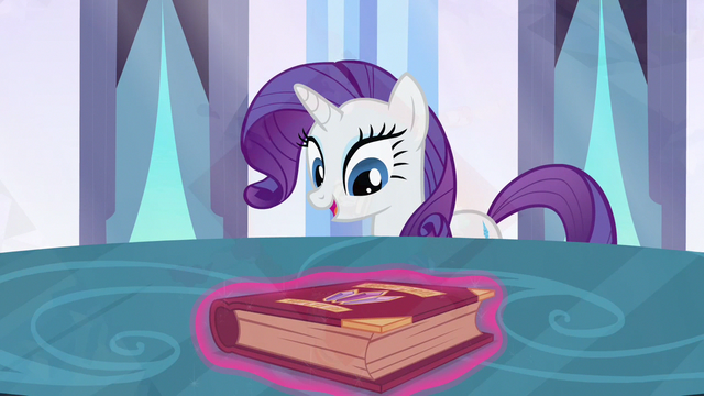 File:Rarity happy expression S3E1.png