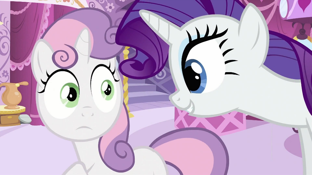 My little pony rarity and sweetie belle - photo#24