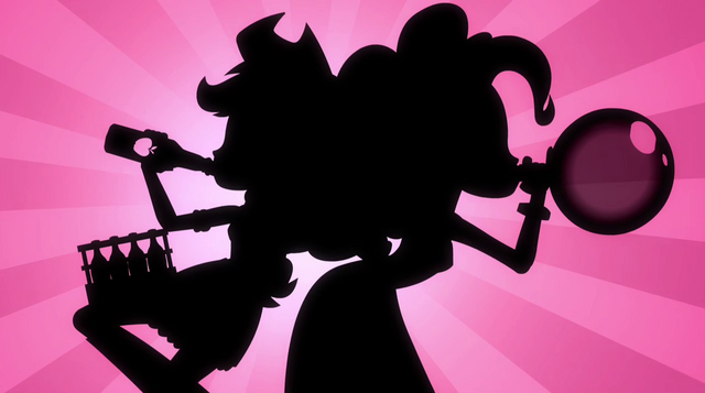 File:Silhouette of Applejack and Pinkie Pie EG2.png