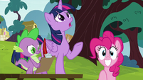 Twilight confused by the story S5E22