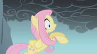 Fluttershy falling after looking down S1E07