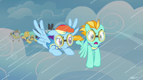 Rainbow Dash hearing woes S3E7