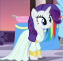 Rarity first dinner dress ID S5E15