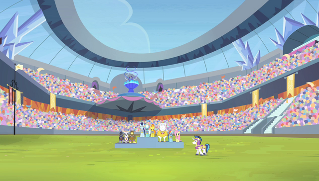 File:Teams at the aerial relay medal ceremony S4E24.png