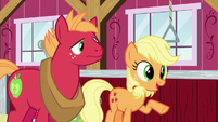 "Young Applejack ""more of an opportunity"" S6E23"