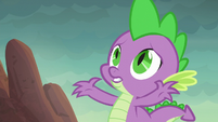 "Spike ""those boulders are huge!"" S6E5"