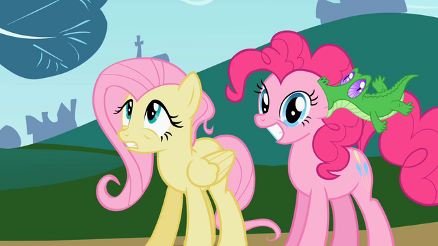 File:Pinkie Pie and Fluttershy1 S02E07.png