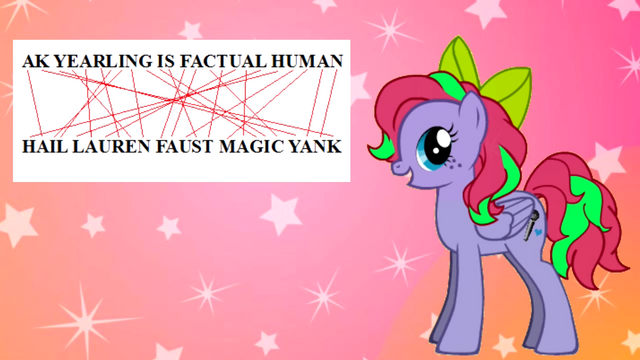 File:FANMADE Hail Lauren Faust Magic Yank.png