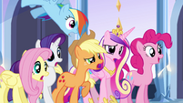 "Main 5 and Cadance ""dancing?!"" EG"