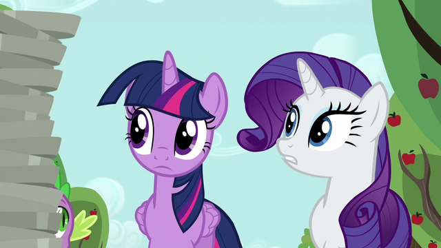 "File:Rarity ""that's a lot of empty pie plates"" S6E10.png"