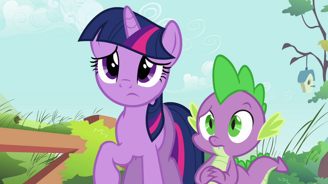 File:Twilight and Spike concerned S03E13.png