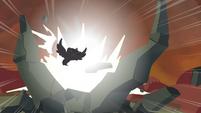 Twilight destroys a rock 2 S4E26