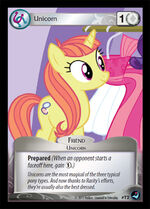 Unicorn token card MLP CCG