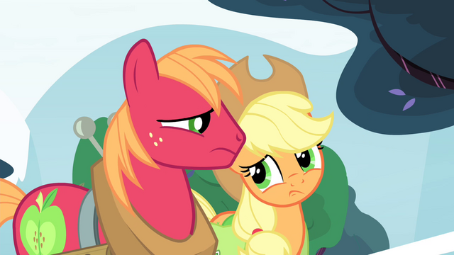 File:Big Mac and Applejack looking at each other S4E20.png