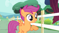 "Scootaloo ""live together as friends"" S4E05"
