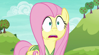 Fluttershy gasping with shock S6E18