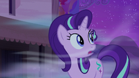Starlight Glimmer looking at the cold wind S6E25