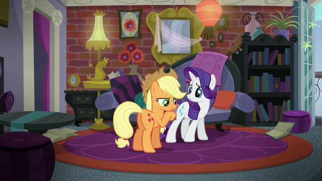 File:Applejack in deep thought S5E16.png