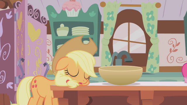 File:Applejack sleeping S01E04.png