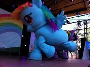 Rainbow Dash in Kidmodo MLP Live