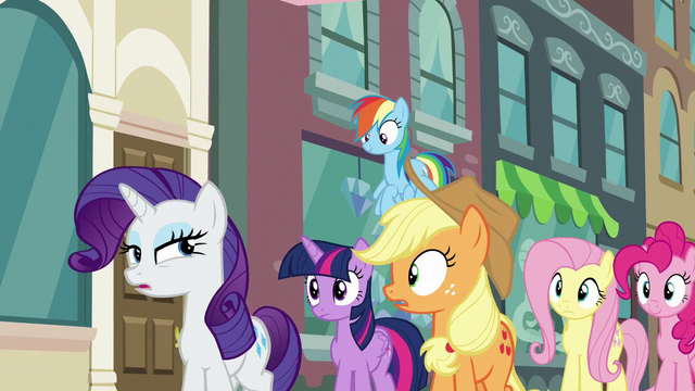 "File:Rarity ""I suppose it didn't make the cut"" S6E9.png"