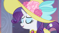 Rarity ha-ha S2E9