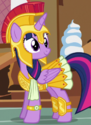 Twilight Sparkle hoplite costume ID S5E21